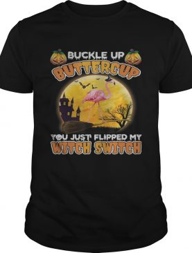 Flamingo Halloween You Just Flipped TShirt