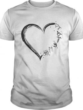 Love Occupational Therapy shirt
