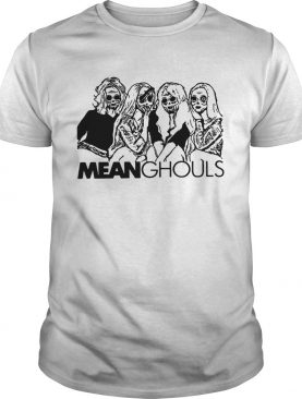 Mean Ghouls Horror movie characters Halloween shirt