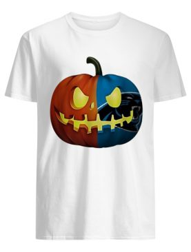 NFL Carolina Panthers pumpkin Halloween shirt