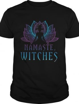 Namaste Witches Yoga Lover Halloween Pagan Witch shirt