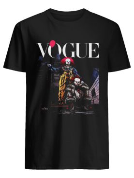 Pennywise IT Vogue Halloween shirt