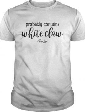 Probably Contains White Claw Shirt