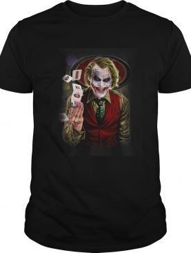 San Francisco 49ers Joker Poker Shirt