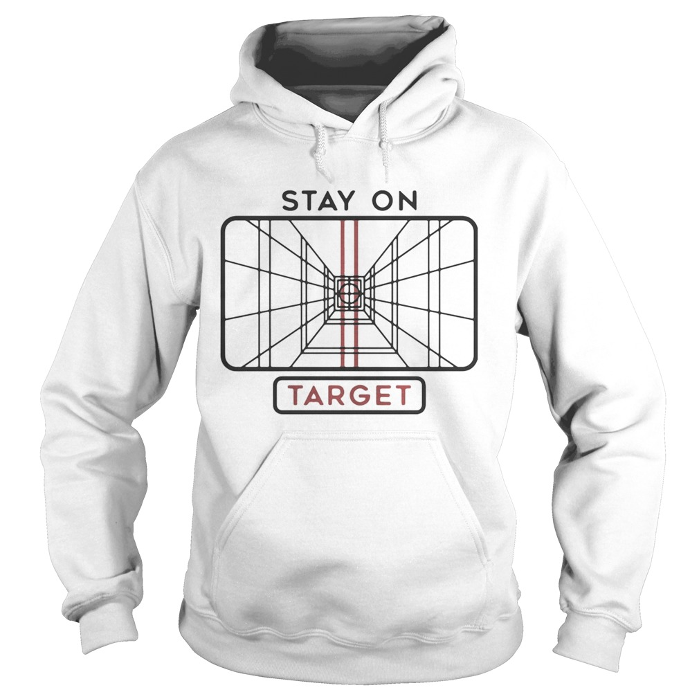 Star Wars Stay on Target  Hoodie