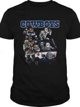 The Massacre Machine Horror Dallas Cowboys shirt