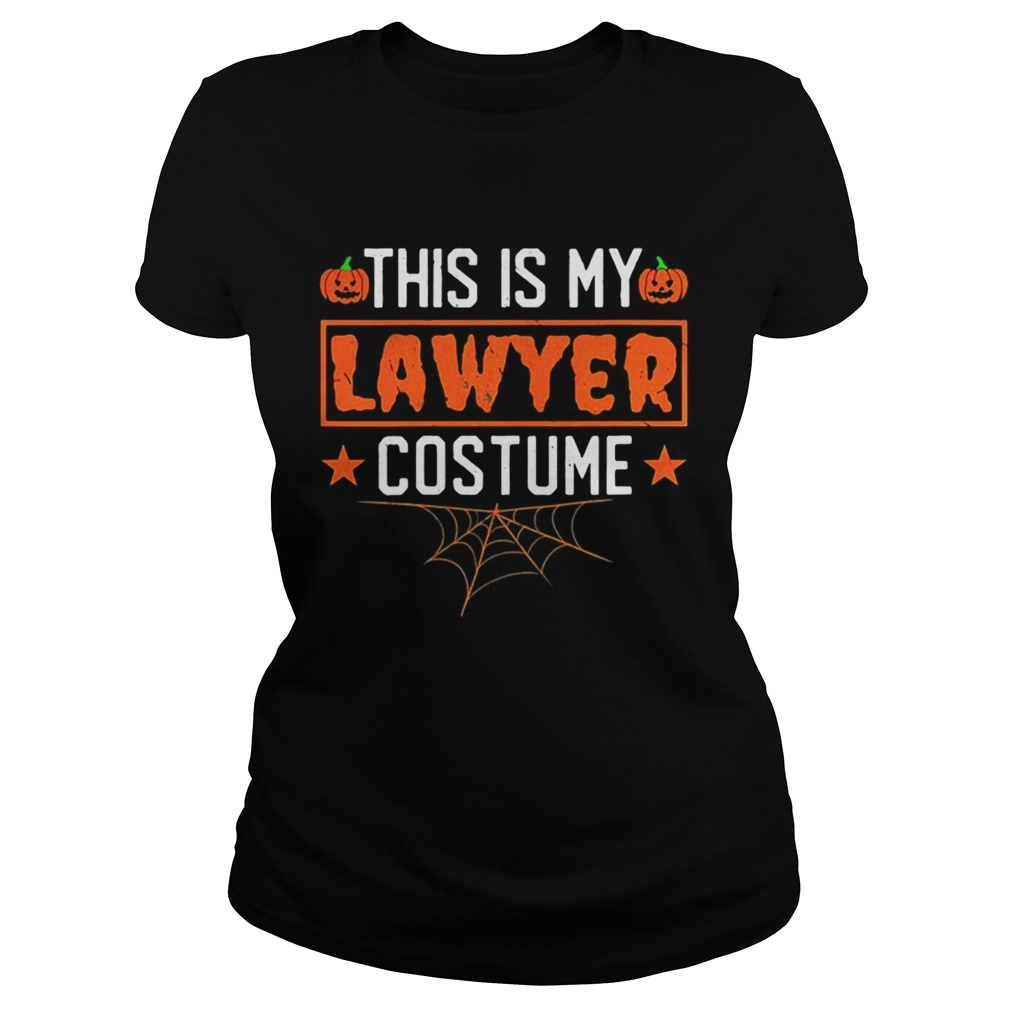 This is my lawyer costume Halloween Classic Ladies