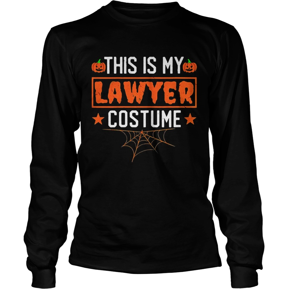 This is my lawyer costume Halloween LongSleeve
