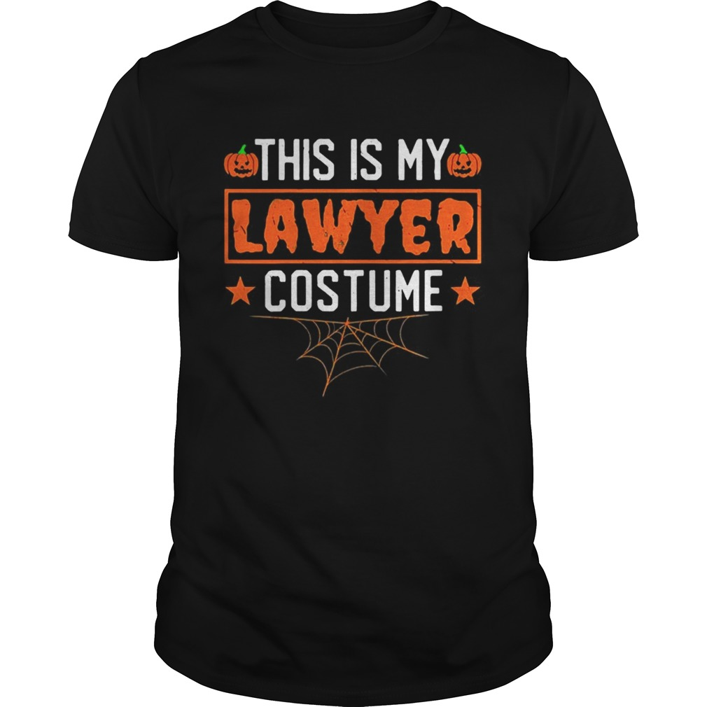 This is my lawyer costume Halloween Unisex