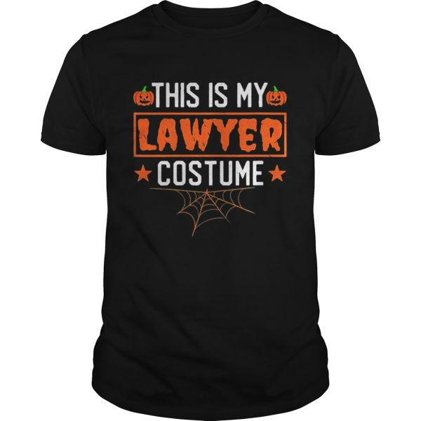 This is my lawyer costume Halloween shirt