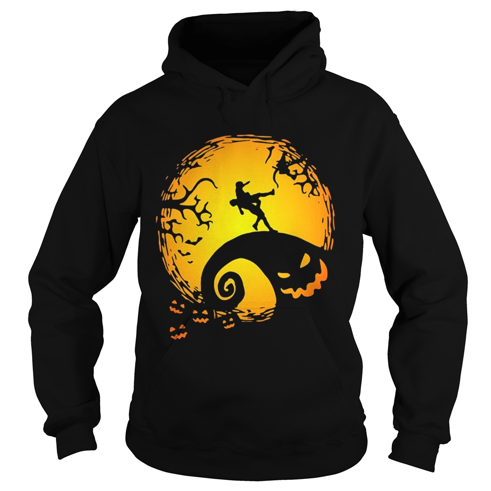 Wrestling Nightmare before Christmas  Hoodie