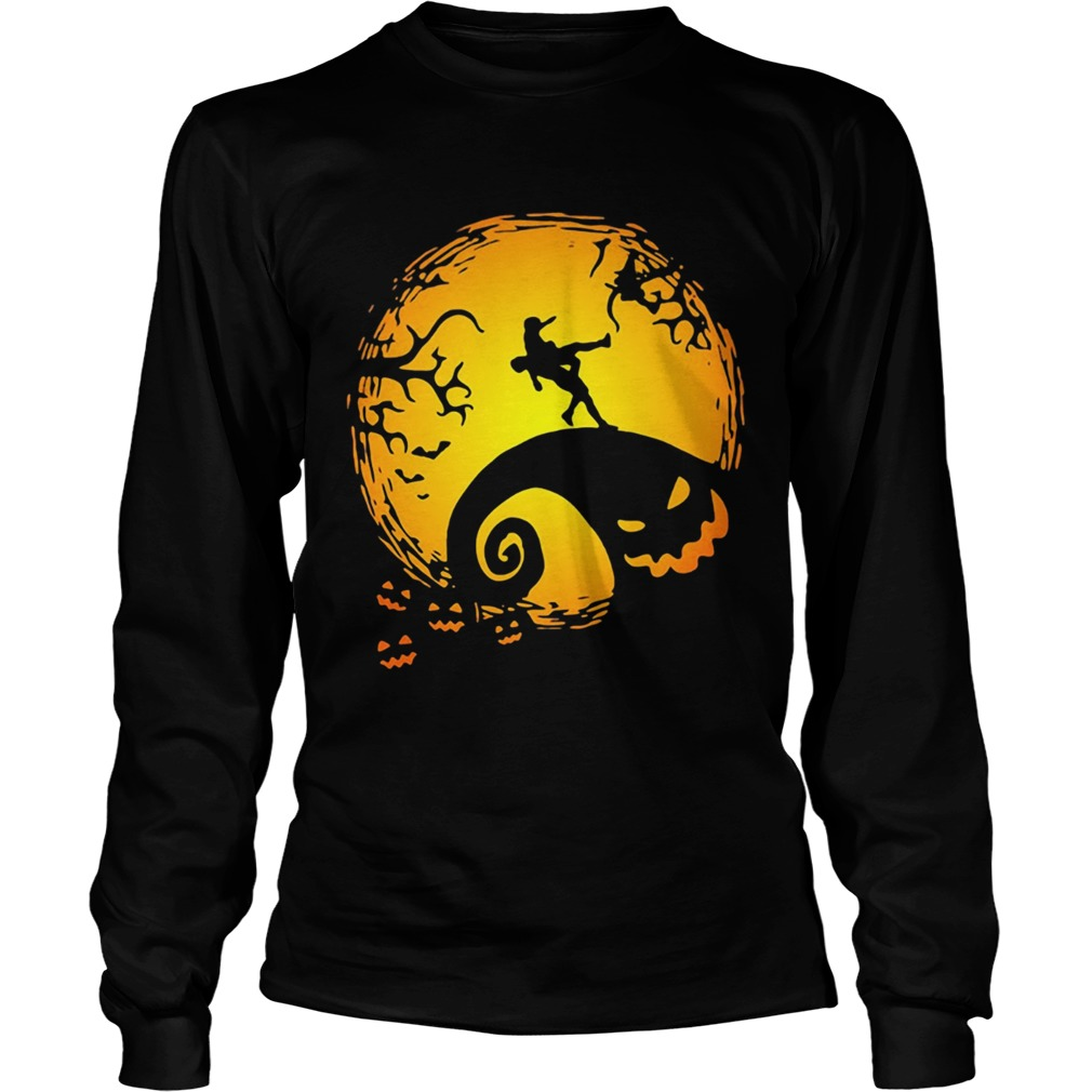 Wrestling Nightmare before Christmas  LongSleeve