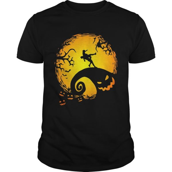 Wrestling Nightmare before Christmas shirt