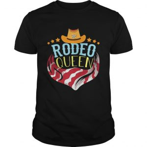 Cute Rodeo Queen Western Barrel Racing Girl Tee Shirt