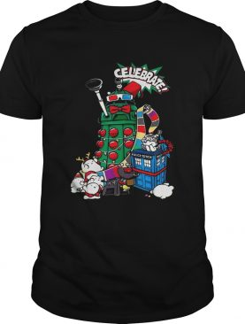 Doctor Who celebrate Christmas shirt