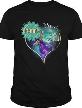 Dragonfly Blessed To Be Called Granny TShirt