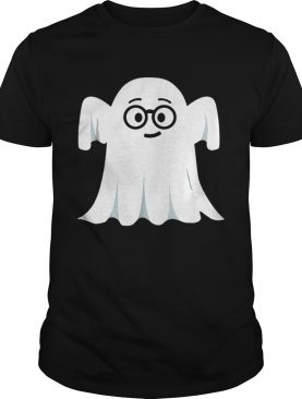 Ghost Emoji Nerd Geek Halloween shirt