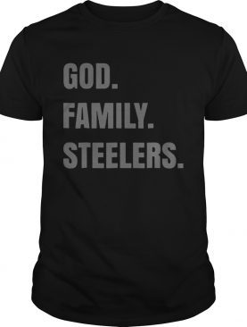 God Family Steelers T Shirt