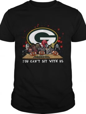 Green Bay Packers Horror team you cant sit with us shirt