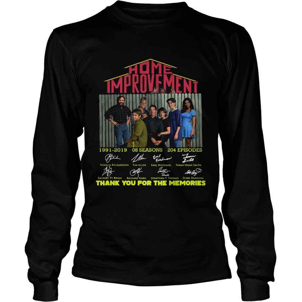 Home Improvement thank you for the memories  LongSleeve
