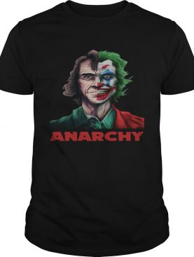 Joker Joaquin Phoenix Anarchy Shirt