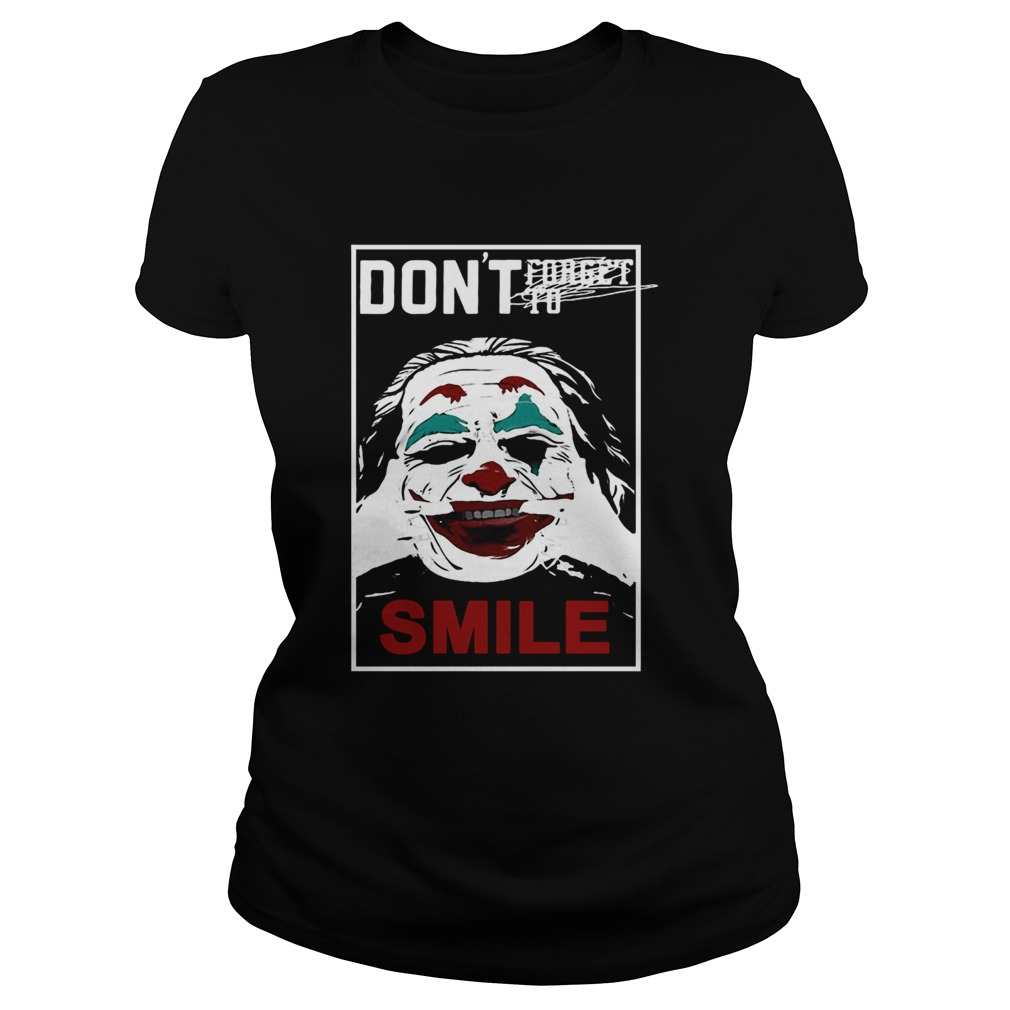 Joker dont forget to smile  Classic Ladies