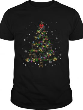 Manchester Terrier Christmas Tree TShirt