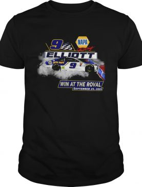 Napa Chase Elliott No9 Win at the Roval September 29 2019 shirt