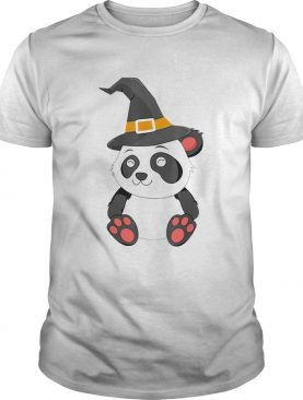 Panda Witch Halloween Bear China Animal Outfit Costume Kids shirt