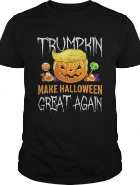 Trumpkin Make Halloween Great Again Trump Hair Pumpkin shirt