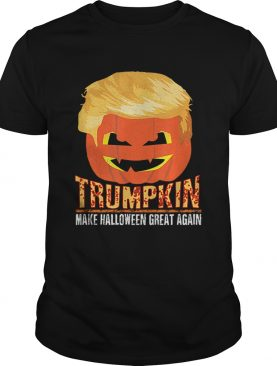 Trumpkin Pumpkin Politics Halloween Ironic Costume Fun Gift shirt