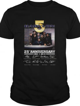 Babylon 5 25th Anniversary 19942019 Signatures shirt