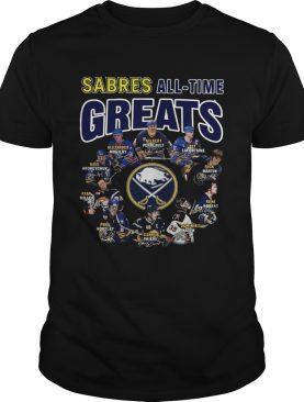 Buffalo Sabres all time great players signatures shirt LlMlTED EDlTlON