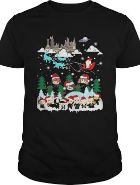 Harry Potter Chibi Ugly Christmas shirt