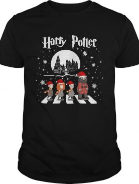 Harry Potter walking On Abbey Road Christmas shirt