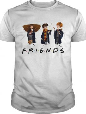 Hermione Granger Harry Potter and Ron Weasley friends tv show shirt
