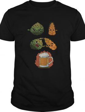 Hop And Malt Fusion To Beer shirt