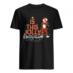 Is This Jolly Enough Auburn Tigers Merry Christmas shirt