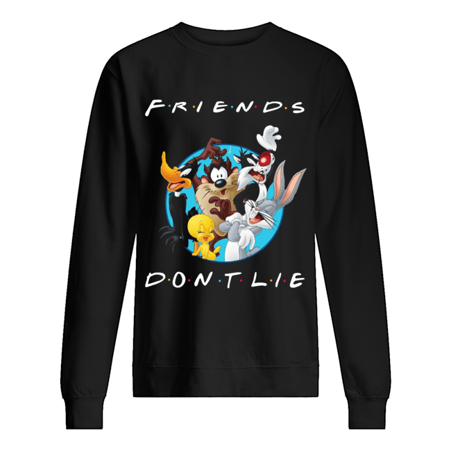 Looney Tunes Friends Don't Lie  Unisex Sweatshirt