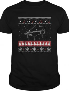Piano Ugly Christmas shirt
