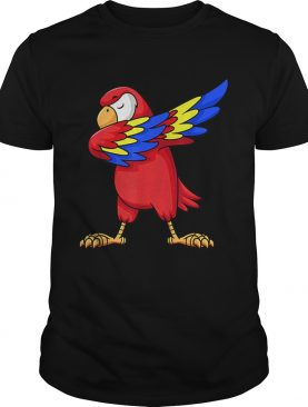 1575345914Parrot Dabbing for kids birthday party gift Family Christmas shirt