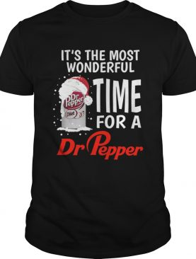 Its the most wonderful time for a Dr Pepper Christmas shirt