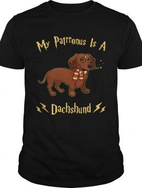 My Patronus Is A Dachshund shirt