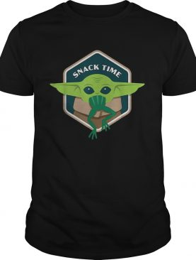 Star Wars The Mandalorian The Child Snack Time shirt