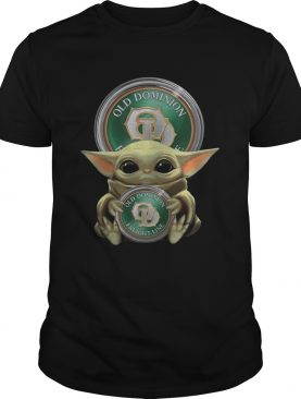 Baby Yoda Hugging Old Dominion Freight Line shirt