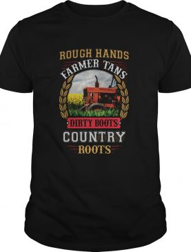 Rough hands farmer tans dirty boots country roots shirt