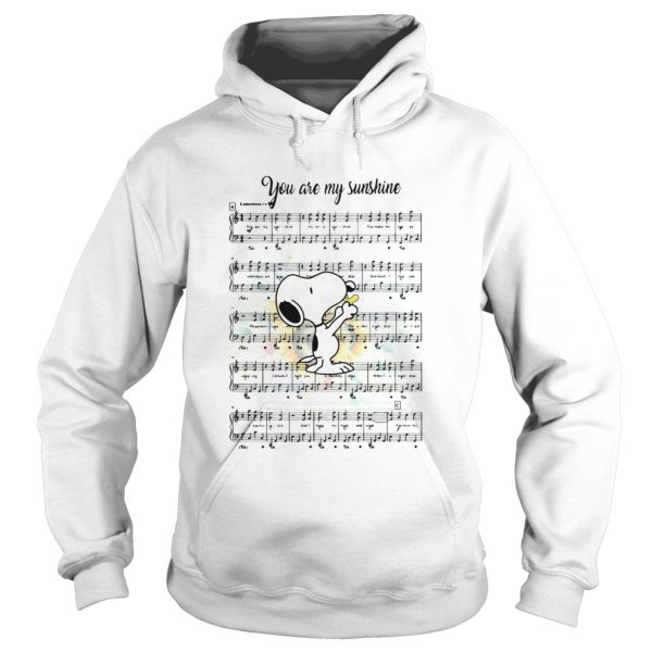 Snoopy you are my sunshine chords  Hoodie