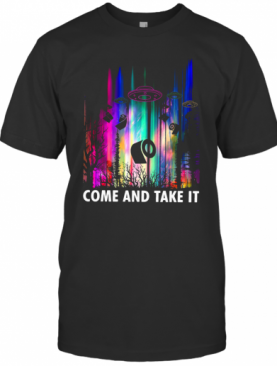Come And Take It UFO Paper T-Shirt