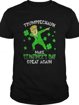 Dabbing Trumprechaun Make St Patricks Day Great Again shirt