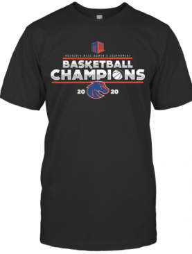 Royal Boise State Broncos 2020 Mountain West Women'S Basketball Champions T-Shirt